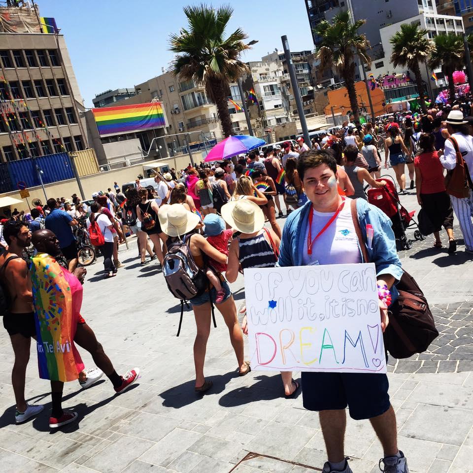 At Tel-Aviv Pride, everyone marches.