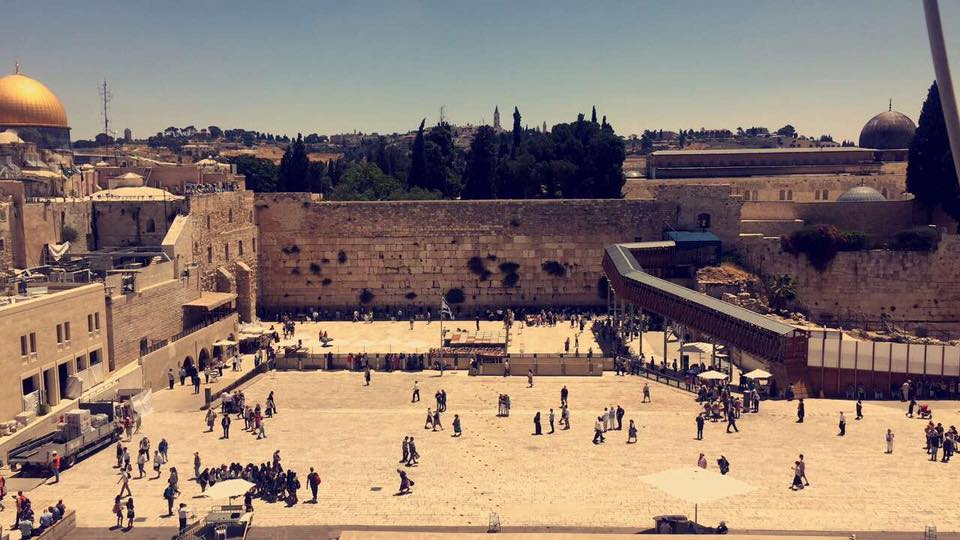 The Western Wall, Judaism's holiest site