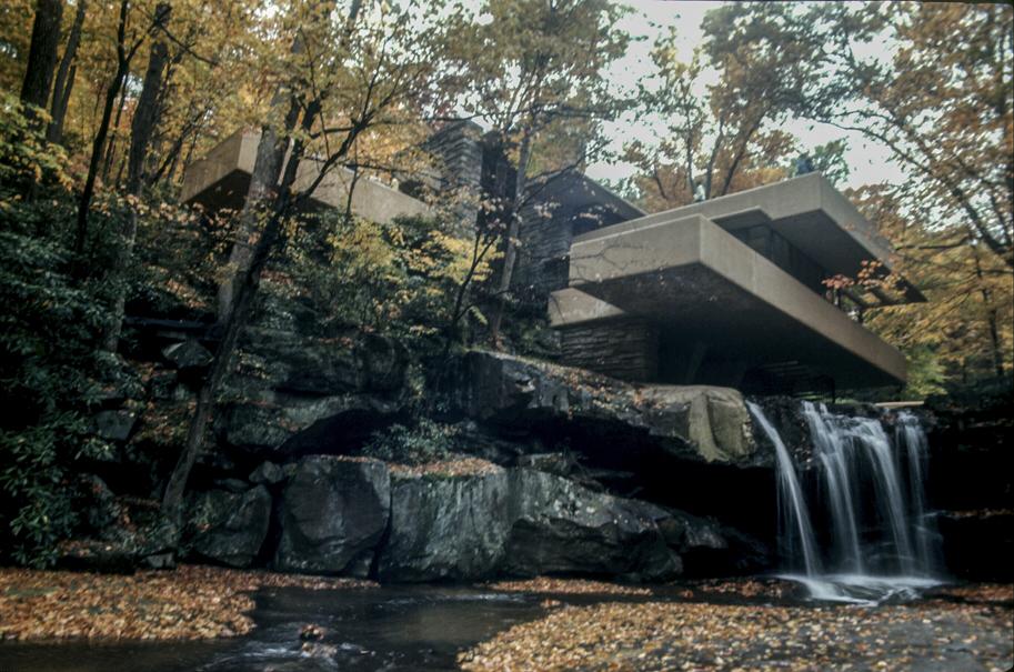 Fallingwater, PA. Photo: R&R Meghiddo.