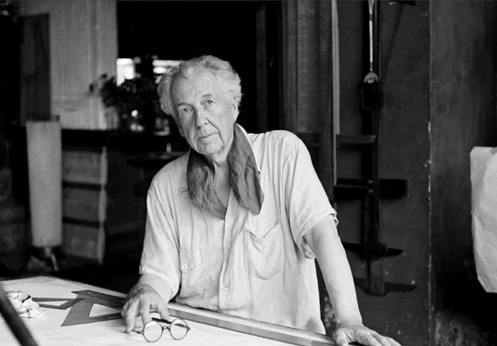 Wright. Taliesin, 1938. Photo AP.