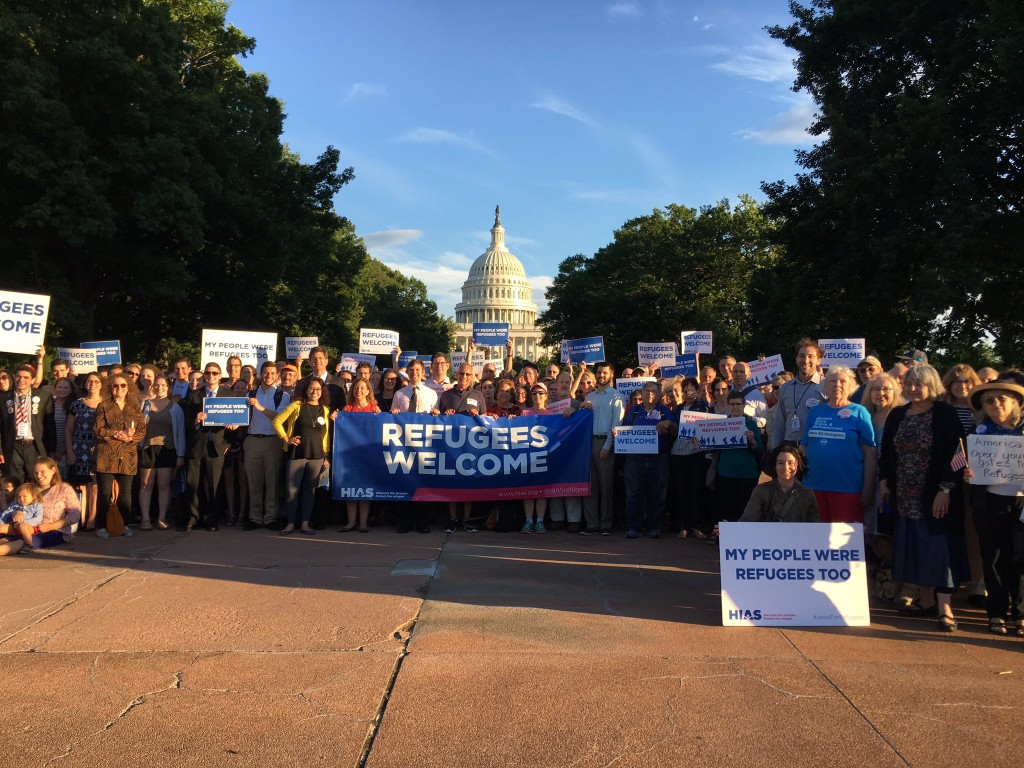 On June 6, 2017, participants attended a vigil on Capitol Hill in memory of the M.S. St. Louis passengers.
