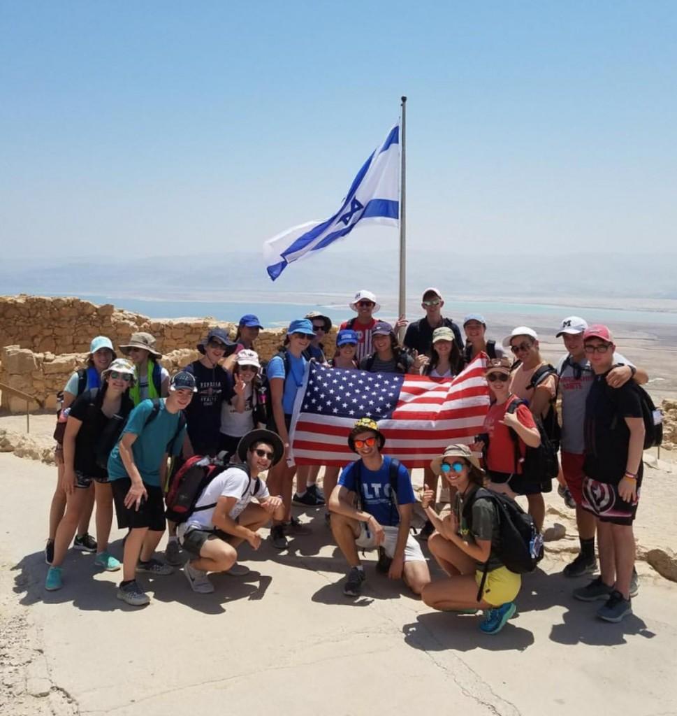 Diller top of Masada