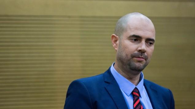 Likud MK Amir Ohana-Yonatan Sindel-Flash90