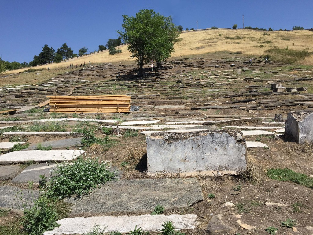 Old Jewish Cemetery in Bitola Monastir Macedonia