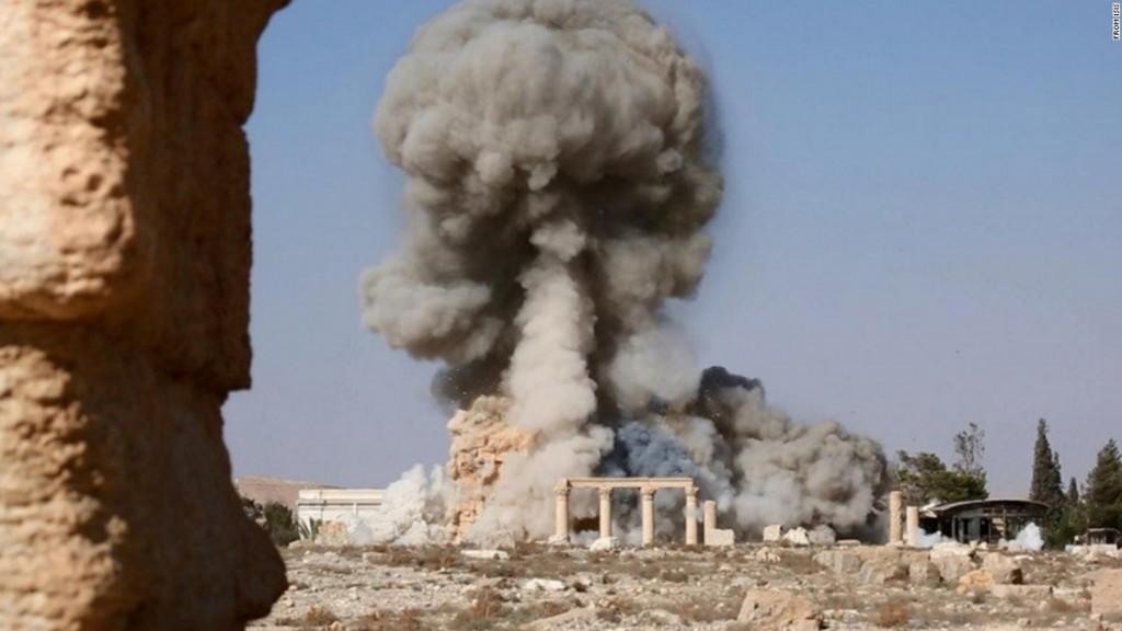 ISIS Destroys ancient Palmyra Temple (2015)