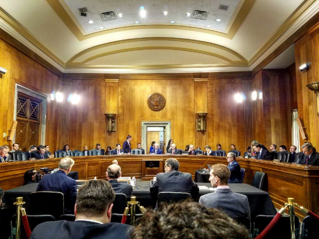 Senate Foreign Relations Committee Hearing: Consideration of the Taylor Force Act, July 12, 2017