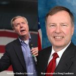 Sen. Lindsey Graham and Rep. Doug Lamborn Photo: Wikipedia