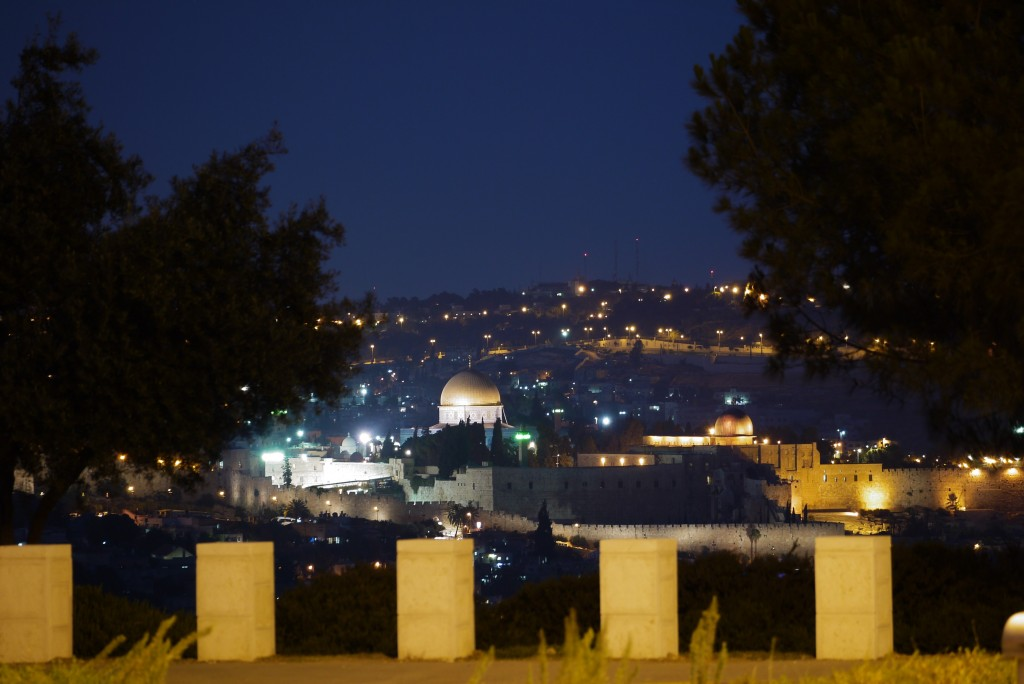 Jerusalem Promenade - Photo courtesy of Eliezer Be'eri