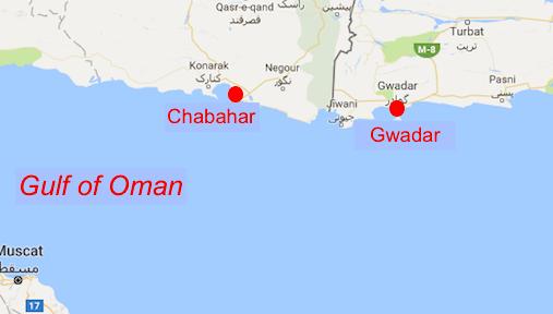 Iranian - Pakistani border.