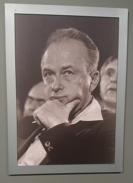 Yitzchak Rabin, taken by Izzy at the Yitzchak Rabin Centre in Tel Aviv