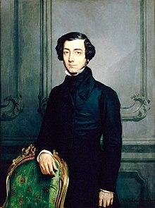 Alexis de Tocqueville (courtesy WikiMedia Commons)