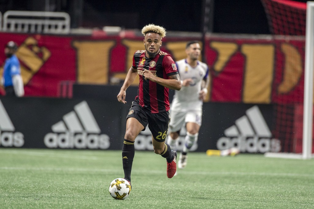 Defender Tyrone Mears stepped up in the 85th minute to thwart a goal attempt by Orlando City SC.