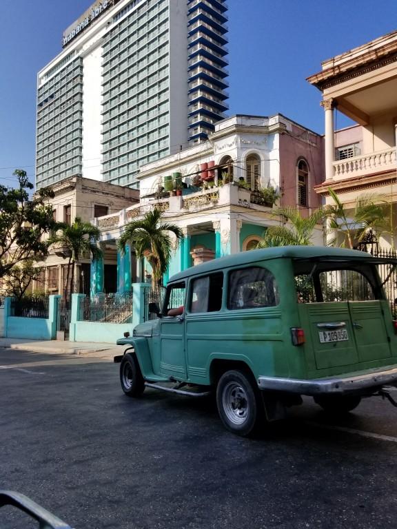 Views of Cuban Architecture in Havana.