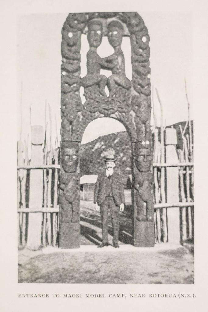 Israel Cohen in Rotorua, New Zealand, 1920/