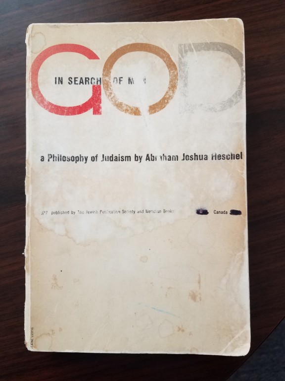 cover image of God in Search of Man by Abraham Heschel