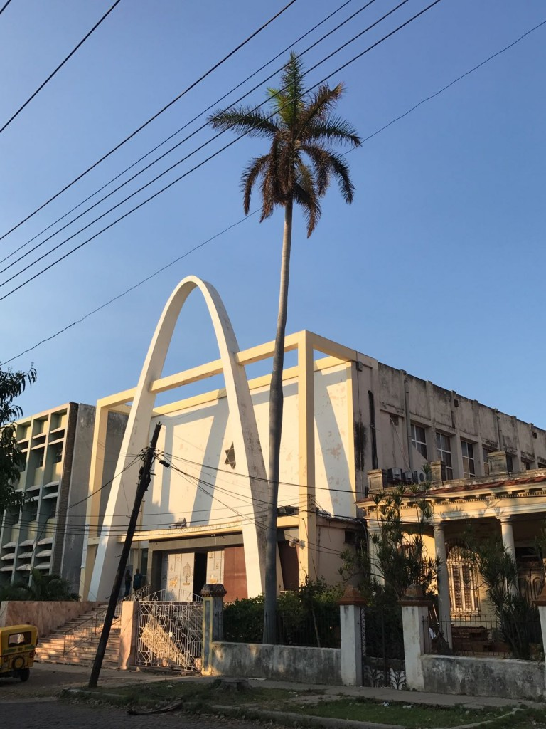 Beth Shalom synagogue located in Havana. Copyright Rayna Rose Exelbierd