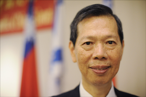 Yun-sheng Chi, representative of the Taipei Economic and Cultural Office in Tel Aviv, is Taiwan's top diplomat in Israel. Photo: Larry Luxner