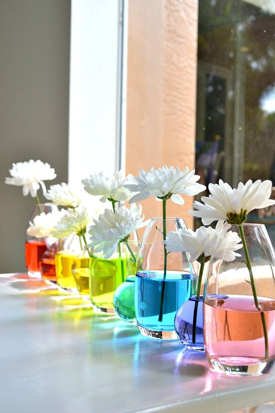 Another Tablescape Featuring Food Coloring