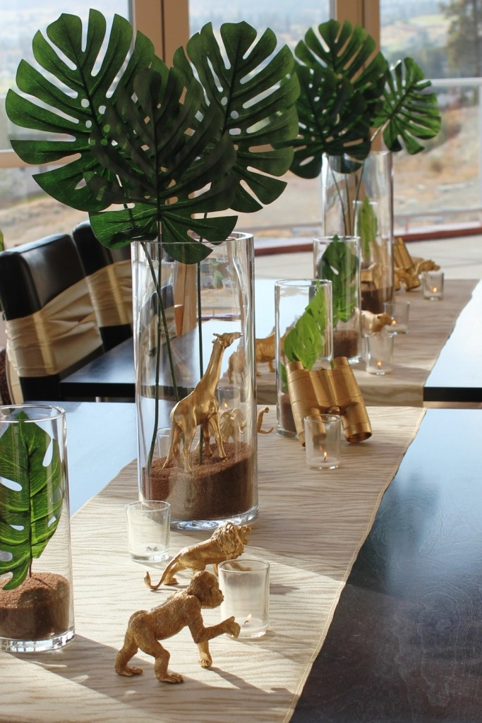 Two By Two Animal Tablescape