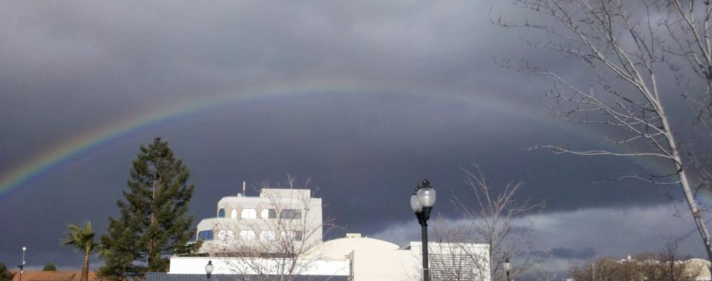 Rainbow in California