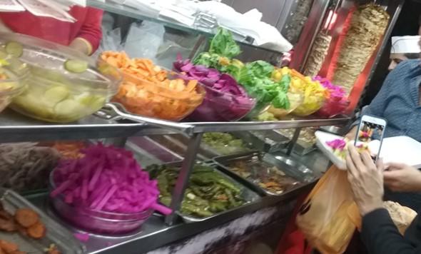 Late-night shawarma in Ramallah. Photo: J. Quirk