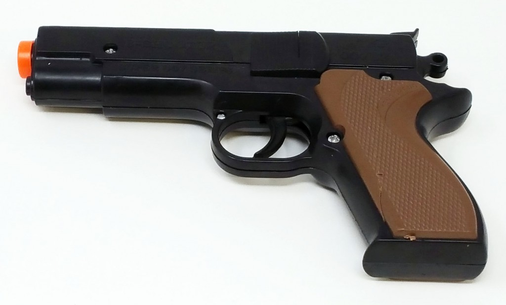 photo of 6.75 cap pistol available at Walmart