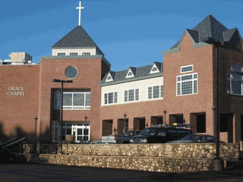 photo of Exterior of Grace Chapel, Lexington, MA