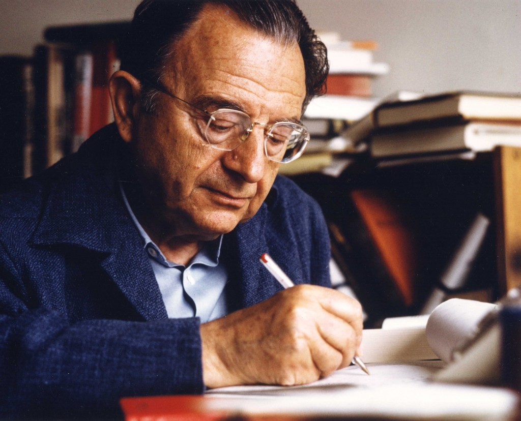 photo of Erich Fromm from 1974
