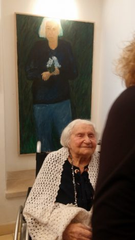 Tova Berlinski and Self-portrait at Artspace