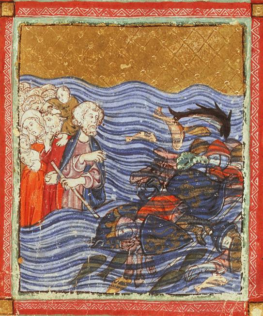 Escape across the Red Sea