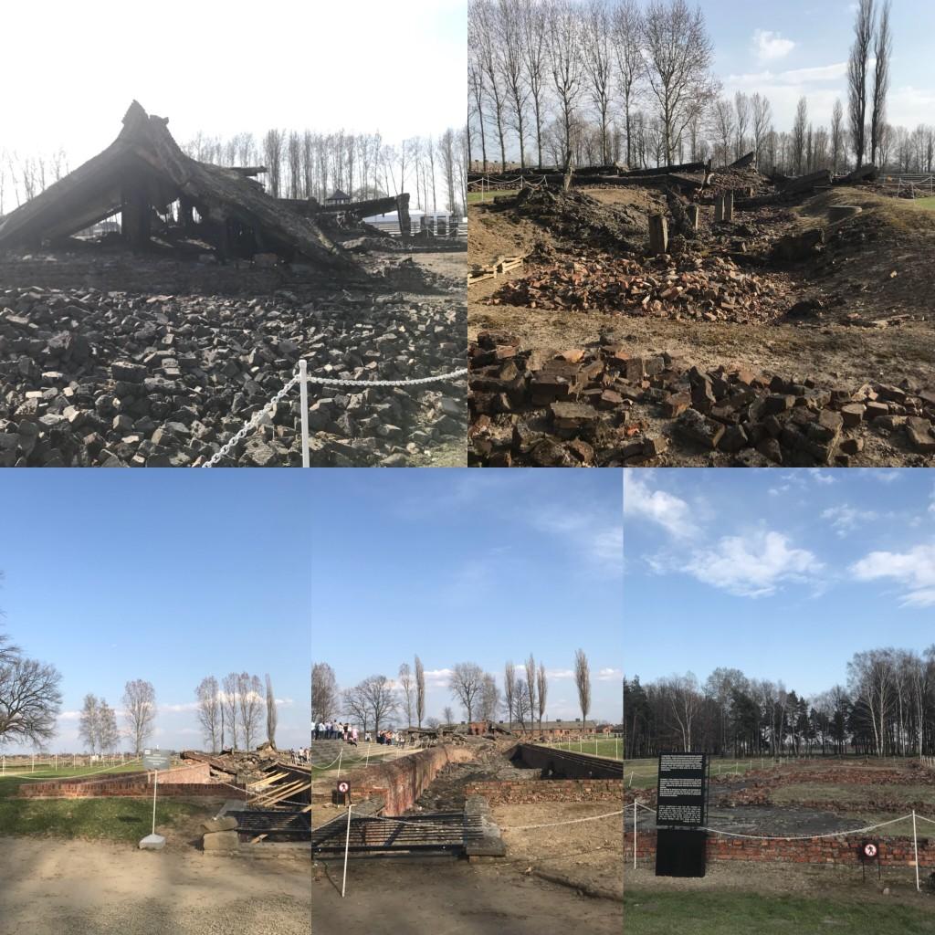 Birkenau gas chambers