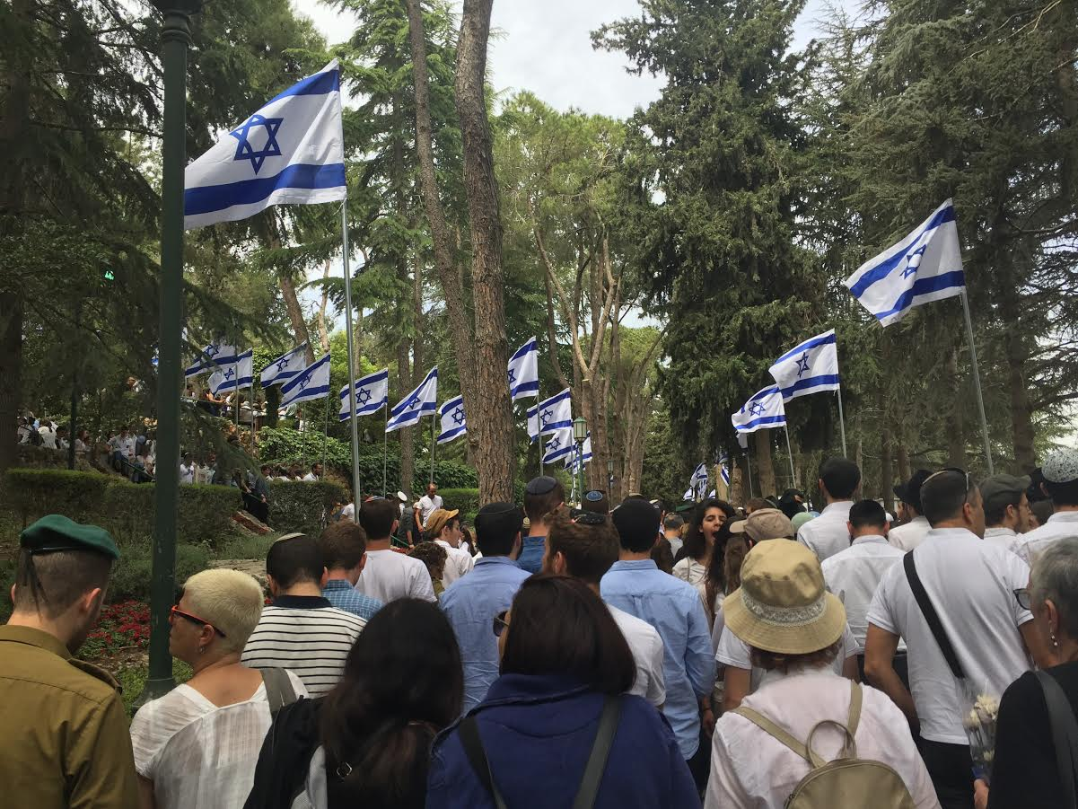 Yom Hazikaron - Remembrance Day for Israel's Fallen Soldiers - on Mount Herzl
