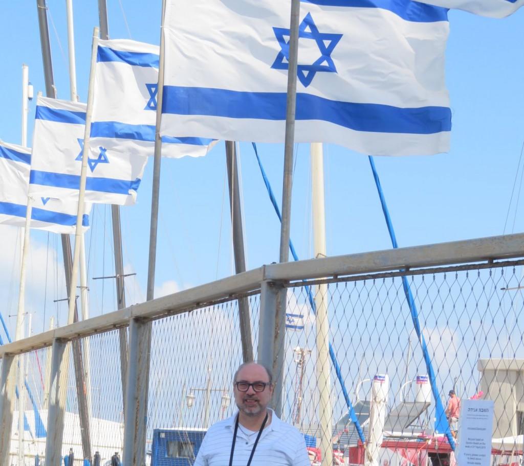 Me at Marina in Tel Aviv