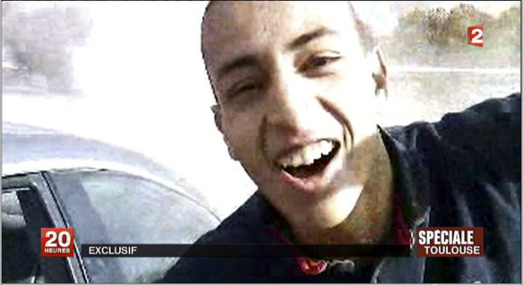 Mohamed Merah, the Toulouse terrorist (photo credit: France 2)