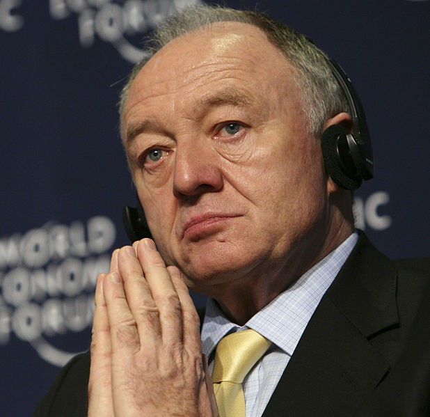 Ken Livingstone at the annual meeting of the World Economic Forum in Davos, Switzerland, in 2008. (photo credit: CC-BY-SA World Economic Forum, Wikipedia)