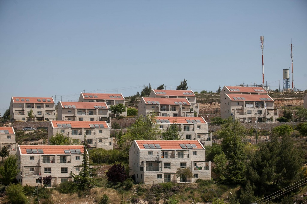 The Ulpana outpost, adjacent to Beit El in the West Bank (photo credit: Noam Moskowitz/Flash90)