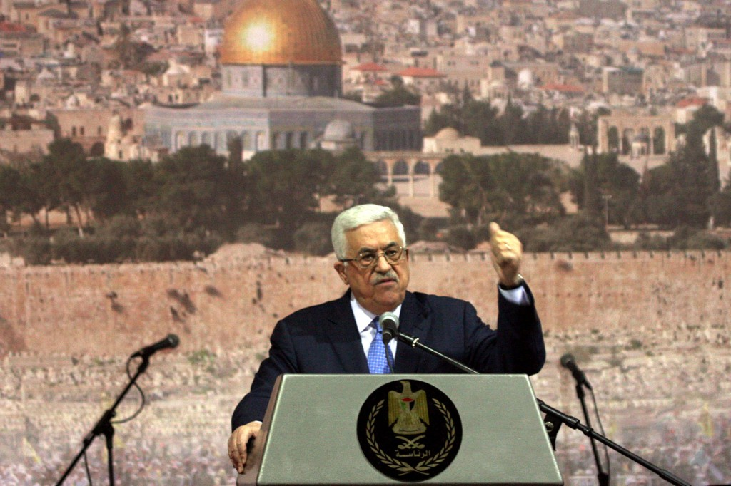 Is Mahmoud Abbas just another Arafat? (photo credit: Issam Rimawi/Flash90)