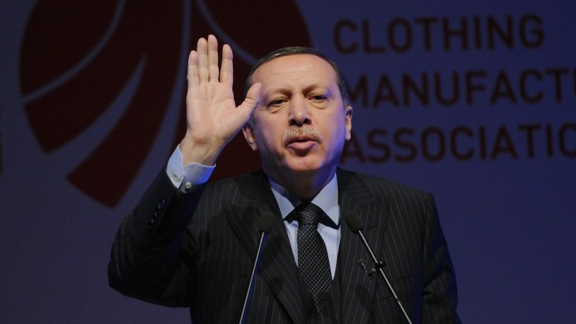A kinder, gentler Erdogan? (photo credit: AP)