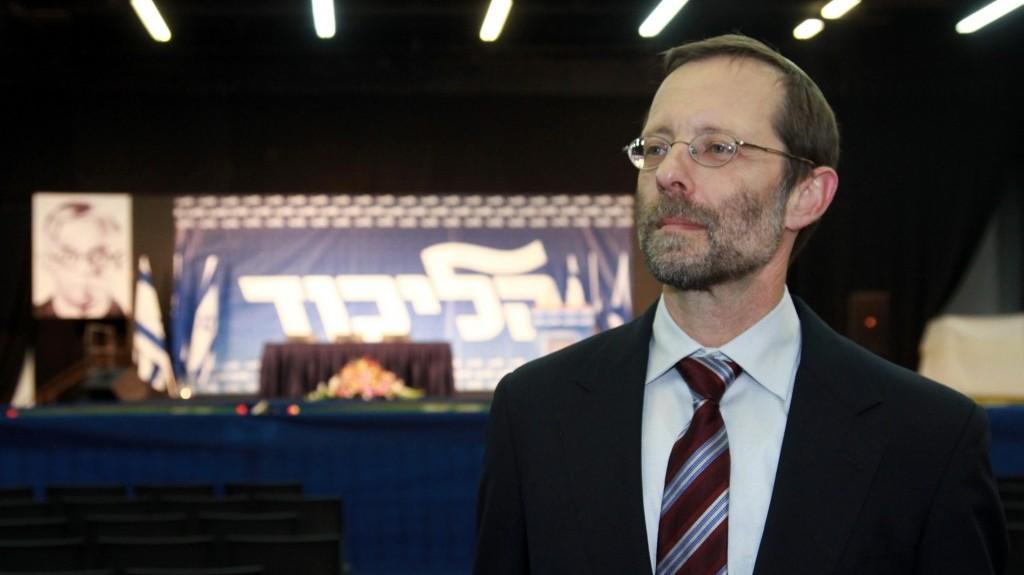 Moshe Feiglin (photo credit: Flash90)