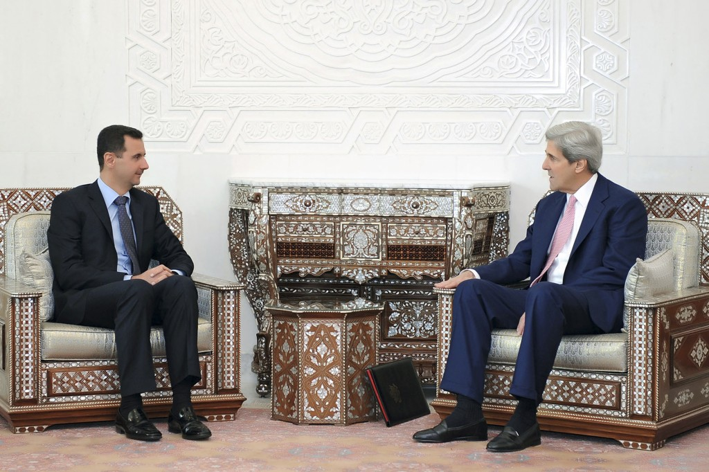 Kerry comments on Assad may draw scrutiny   The Times of ...