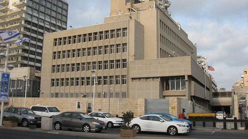 תוצאת תמונה עבור American Embassy, Tel Aviv
