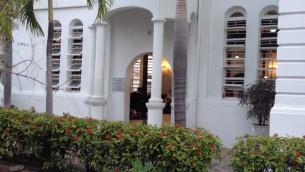 La Jamaïque est le foyer de plusieurs dizaines d'Israéliens et d'un peu moins de 400 Juifs. Mais selon les dirigeants de la communauté, peu d'Israéliens sont actifs dans la synagogue de l'île, Shaare Shalom. (Crédit : Maayan Jaffe / The Times of Israël)