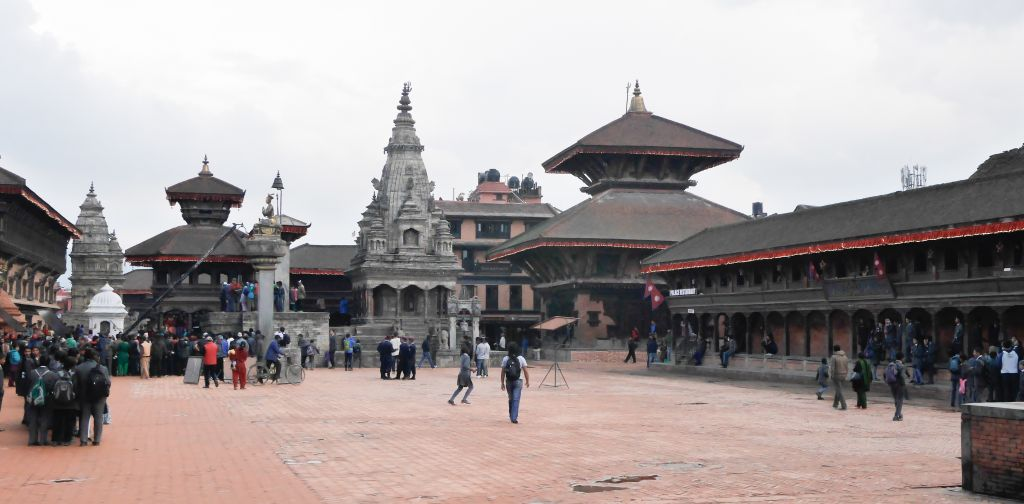 Image result for bhaktapur durbar square earthquake