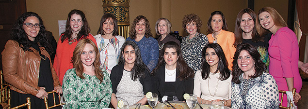 A table of Bergen County guests.
