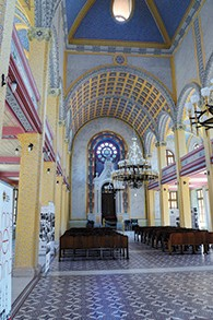 The Grand Synagogue of Edirne was renovated this year.