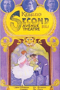 The program cover for its first run, on Second Avenue.