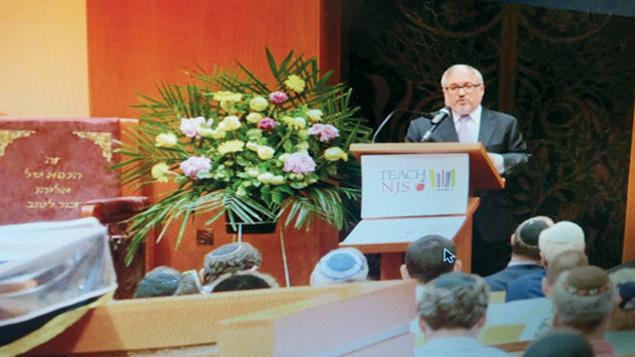 Joshua Pruzansky heads the political arm of the Orthodox Union in New Jersey.