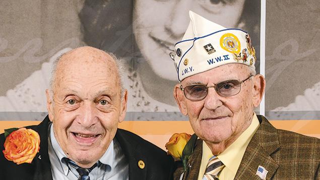 Harry Ettlinger and Alan Moskin