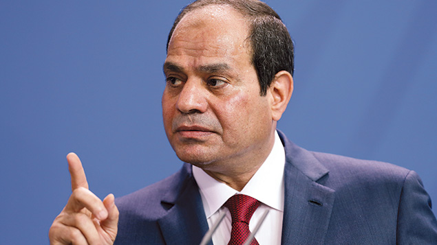 Egypt's President Abdel Fattah el-Sisi is among the six people whose reactions to the deal will matter. Adam Berry/Getty Images