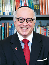 Dr. Steven Huberman, founding dean of the school of social work at Touro College.